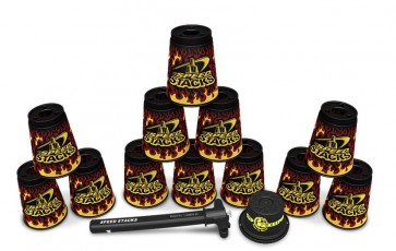 Speed Stacks Premium Black Flame  < SUMMER SALE! >